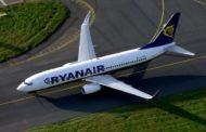 Стали известны маршруты лоукостера Ryanair из Украины
