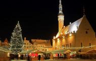 Таллинн ждет гостей на зимние праздники