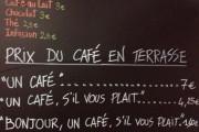 В Ницце есть кафе, где цена кофе зависит от вежливости клиента