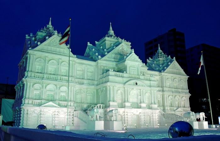 В Японии состоится Снежный фестиваль