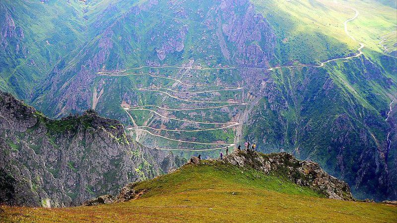 Самая опасная дорога в мире находится в Турции