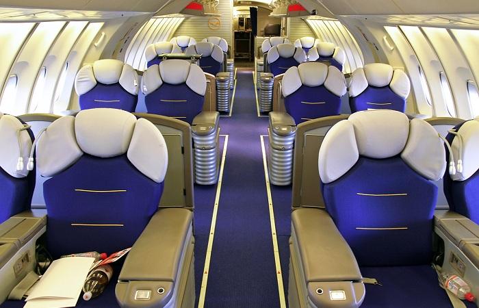 Lufthansa Airlines. Первый класс