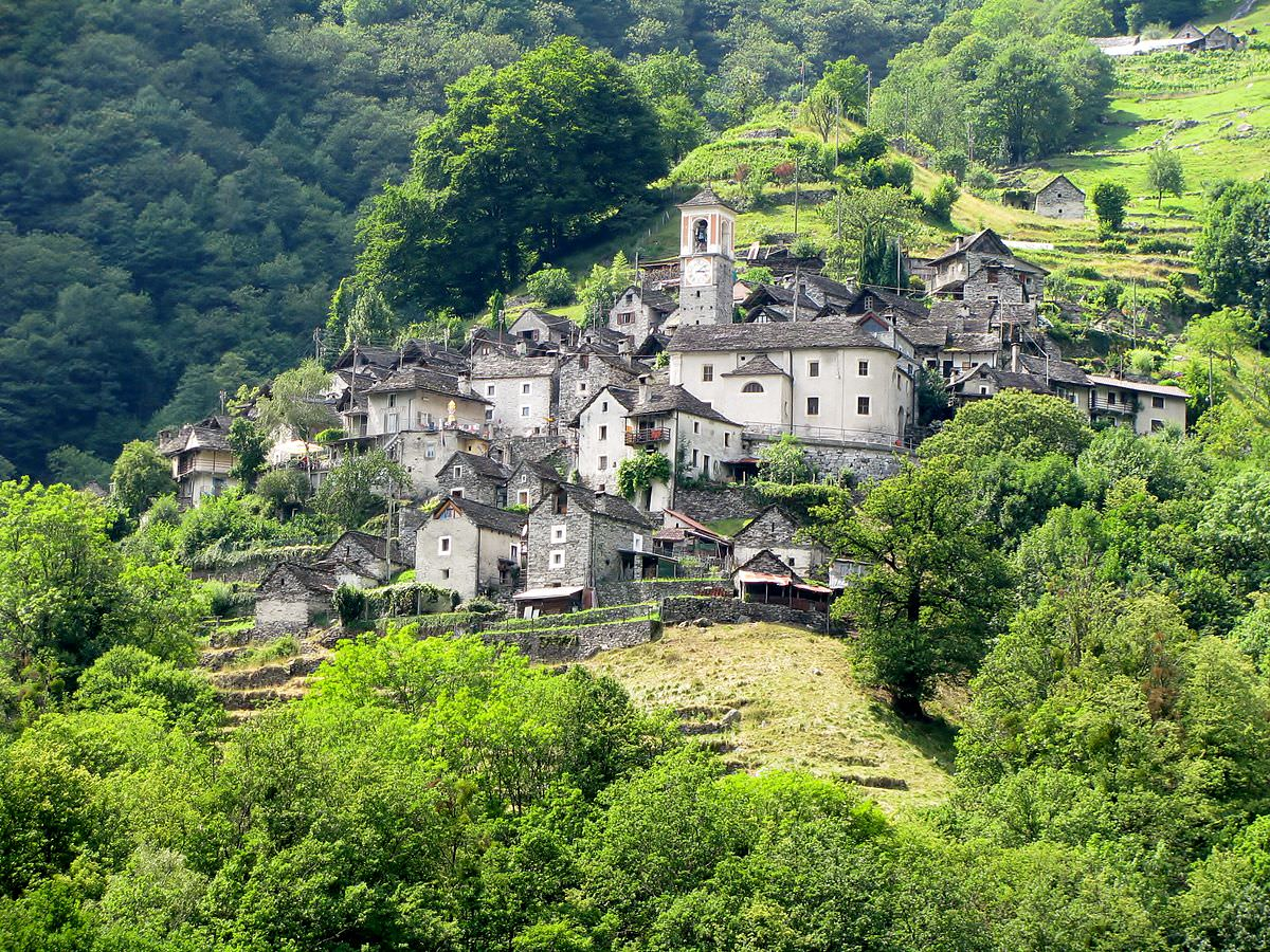 Деревня Коррипо