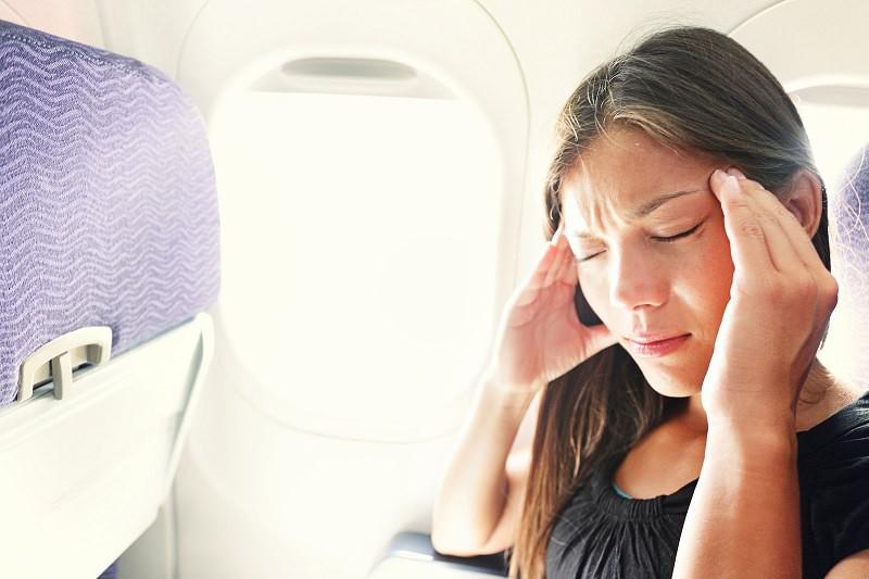 Специальное устройство избавит от укачивания в самолетах