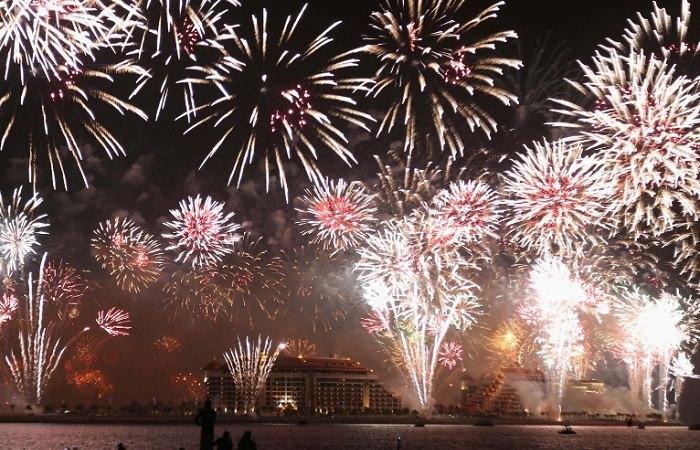 Новогодний фейерверк Дубая вошел в Книгу рекордов Гиннеса