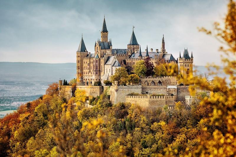 Замок Гогенцоллерн - средневековая крепость