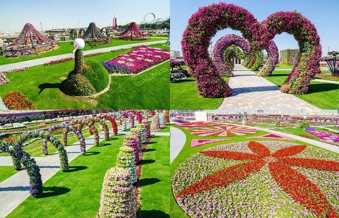 В Дубаи открылся цветочный сад