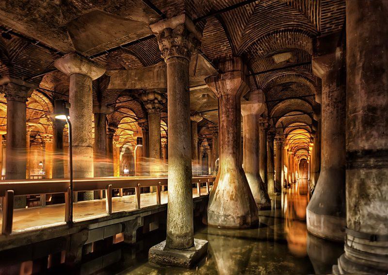 Достопримечательность Стамбула: Цистерна базилика