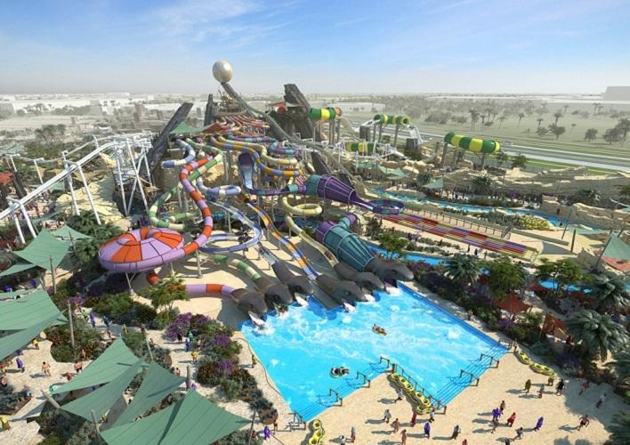 В 2013 году в Абу-Даби открывается еще один крупнейший аквапарк