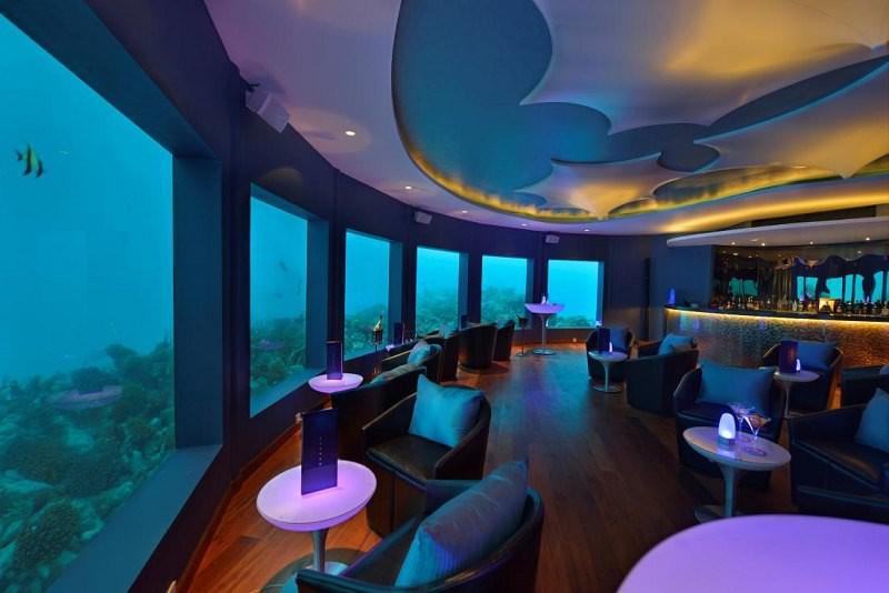 первый в мире подводный ночной клуб - Subsix