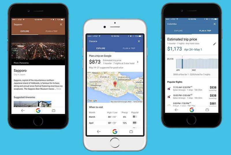 Google разработал сервис для планирования отпуска