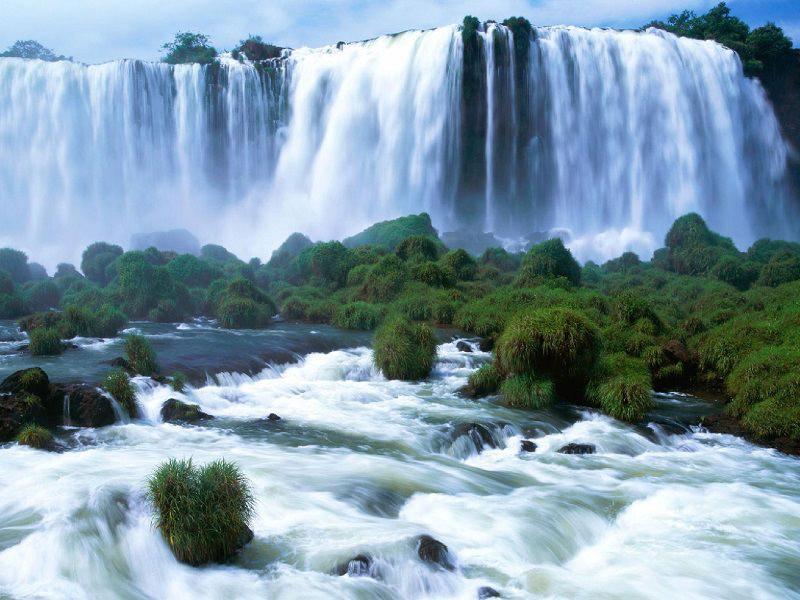 Водопад Игуасу, Бразилия-Аргентина