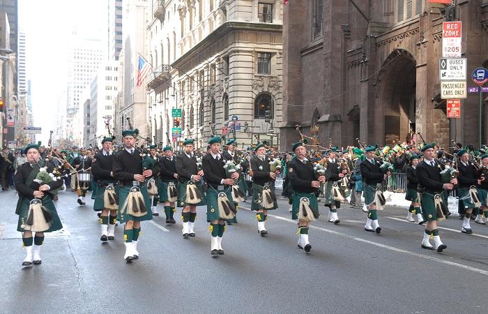 День святого Патрика - покровителя Ирландии
