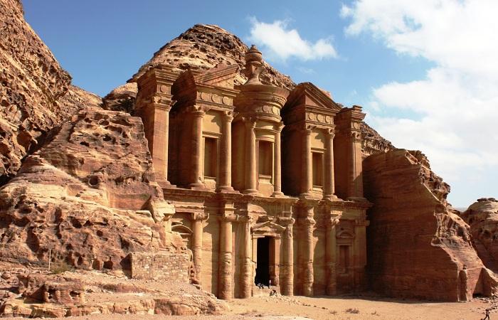 Город древних арабов Петра, Иордания