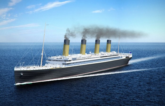 """В Китае построят парк, посвященный """"Титанику"""""""