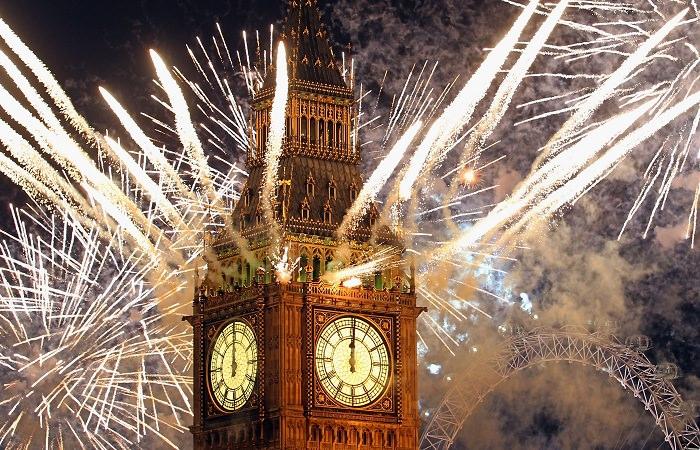 Как отмечают Новый год в Англии
