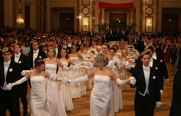 Императорский бал в Вене