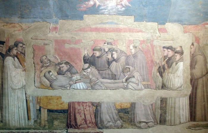 Фрески в базилике Санта-Кроче
