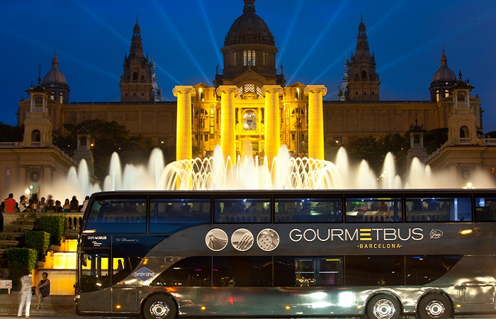 Gourmet Bus. Барселона