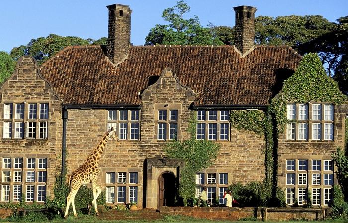 Giraffe Manor - самый необычный отель в мире
