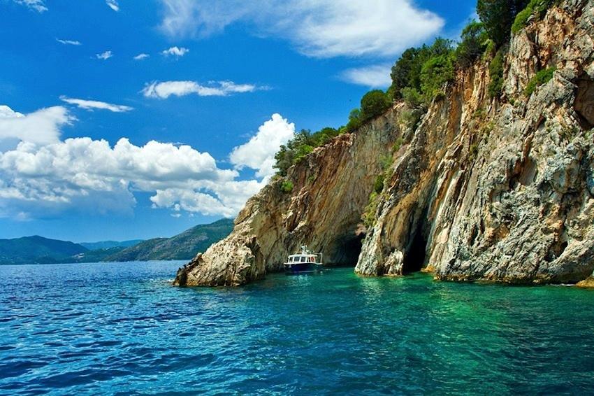 Остров Меганиси, Греция