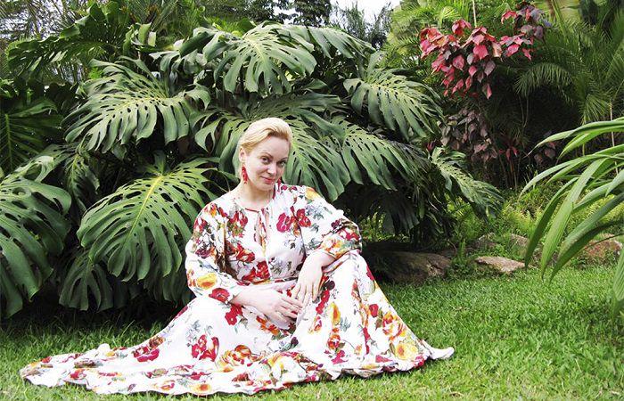 Украинский дизайнер одежды и украшений Ольга Шинкаренко