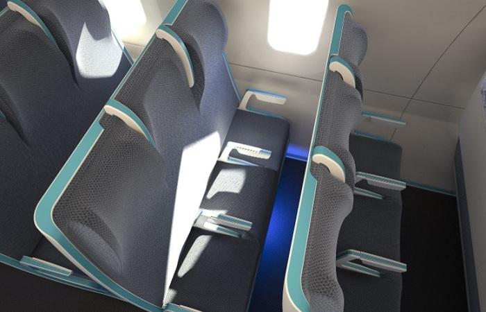 Для полных пассажиров разработаны специальные кресла