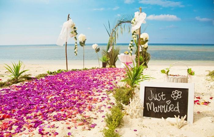 В Италии теперь можно пожениться на пляже