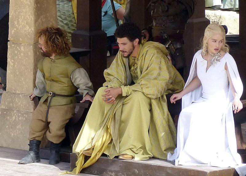 """Туристы смогут наблюдать съемки """"Игры престолов"""""""