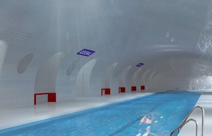 Один из вариантов эскиза-предложения для парижского метро